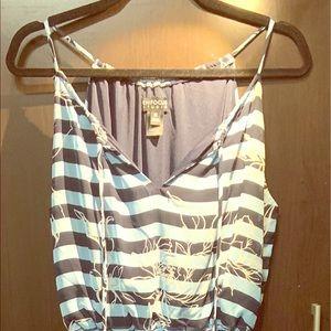 """ENFOCUS STUDIO"" Long Sleeveless Maxi Dress"